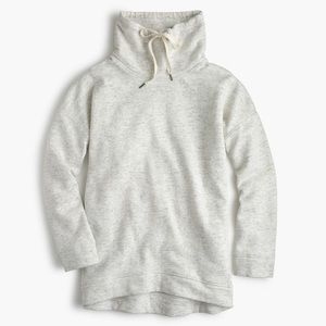 J. Crew Heather Funnel Neck Hoodie